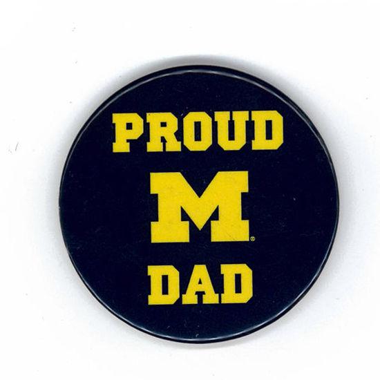 MCM University of Michigan Proud Dad Magnet