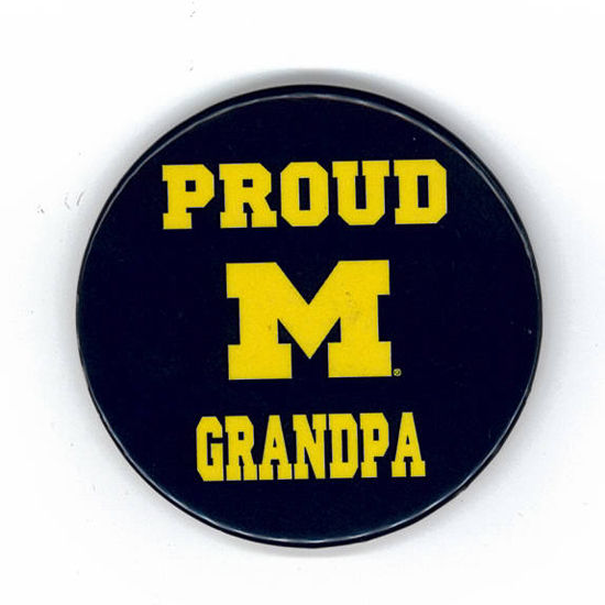 MCM University of Michigan Proud Grandpa Magnet