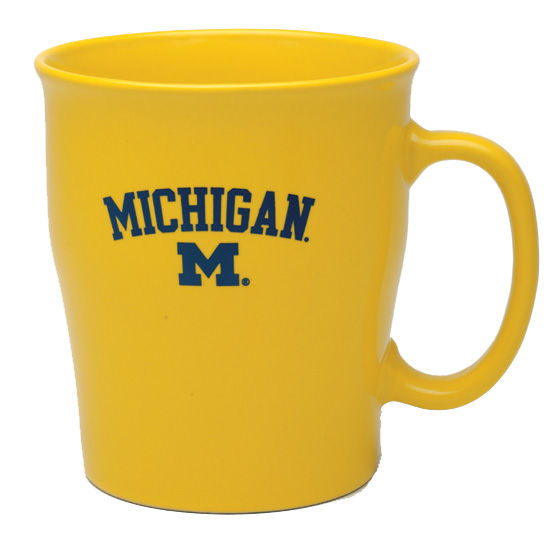 RFSJ University of Michigan Yellow Mary Coffee Mug