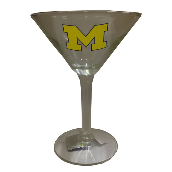 RFSJ University of Michigan Martini Glass
