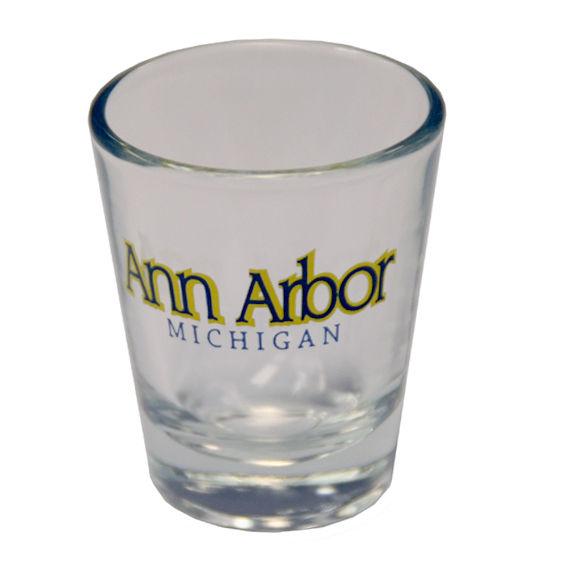 Ann Arbor Michigan Shot Glass