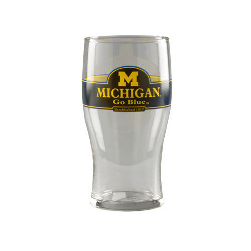RFSJ University of Michigan 20oz Pub Ale Glass