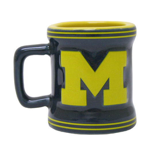 Boelter Brands University of Michigan Mini Sculpted Relief Coffee Mug