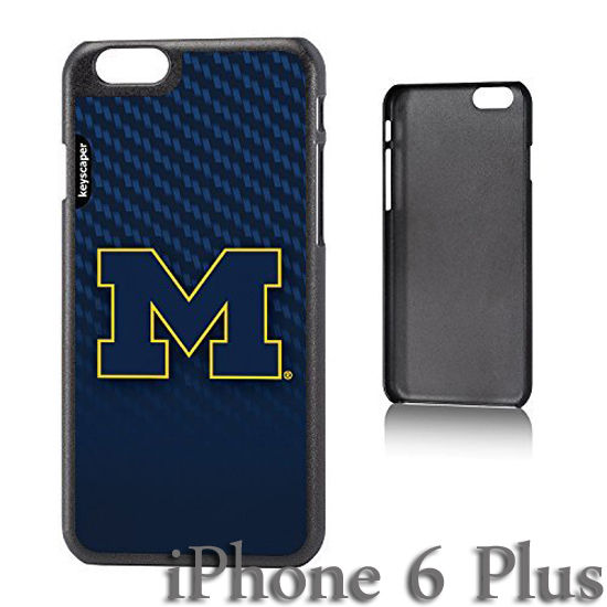 Keyscaper University of Michigan Apple iPhone 6 Plus Slim Case