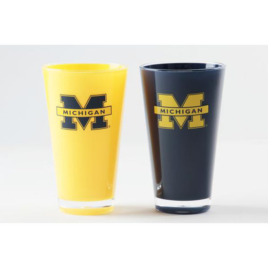 Duck House University of Michigan Twin Pack Insulated Tumblers