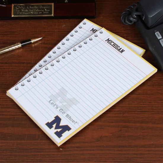 Fanatic Cards University of Michigan 2 Pack Notepads