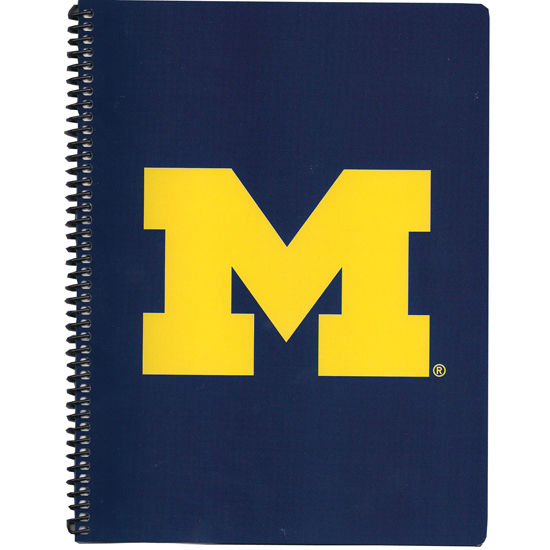 Overly University of Michigan Spiral Notebook