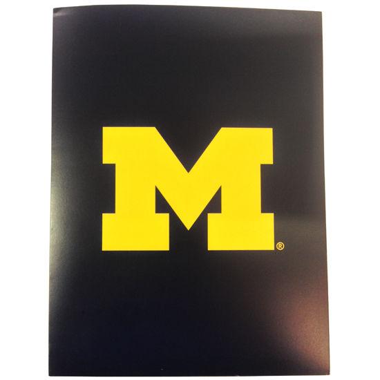 Overly University of Michigan Two Pocket Folder