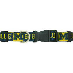 Pet's First University of Michigan Large Dog Collar