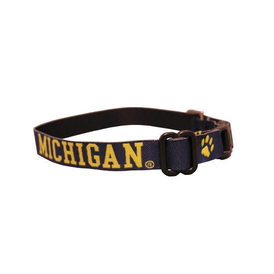Spirit University of Michigan Paw Print Cat Collar