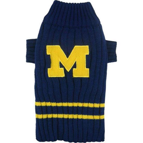 Pets First University of Michigan Dog Sweater 9050a0955