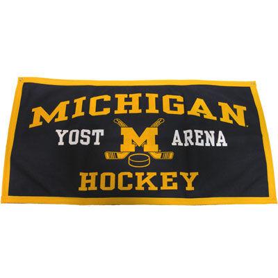 Yost Michigan Hockey Banner