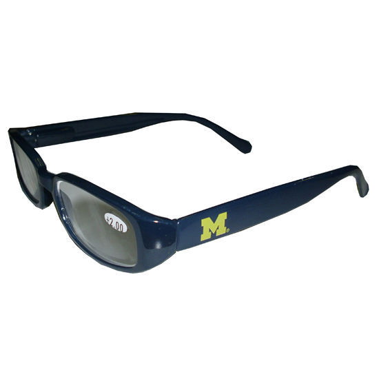 Jardine Eyewear University of Michigan Navy Reading Glasses