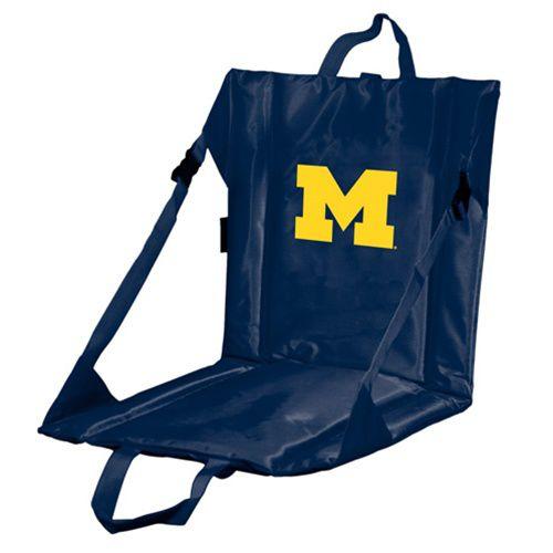 Logo University of Michigan Stadium Style Seat Cushion