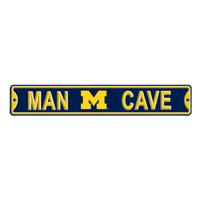 Authentic Street Signs University of Michigan Man Cave Sign