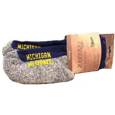 Over The Calf Trekker Michigan Socks