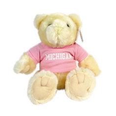 Chelsea Teddy Bear Co. University of Michigan Beige Knuckles Bear