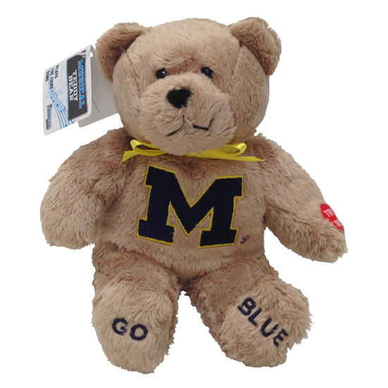 Fanatic University of Michigan Stuffed Musical Teddy Bear