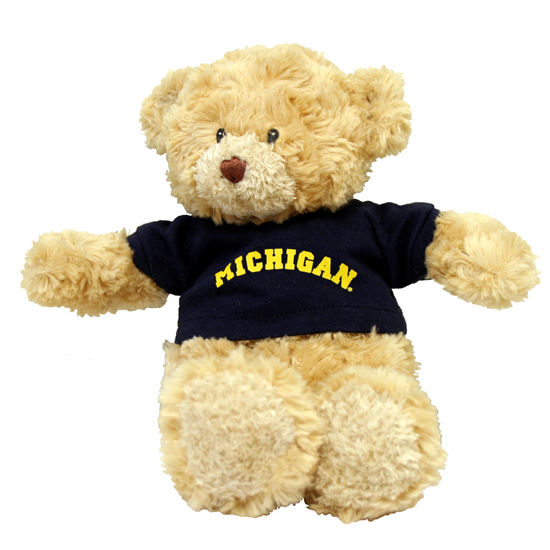MCM University of Michigan Baby Proof Teddy Bear