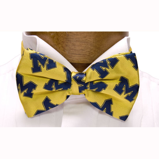 Bow Tie Yellow / Pre-Tied Michigan by Varsity Vests