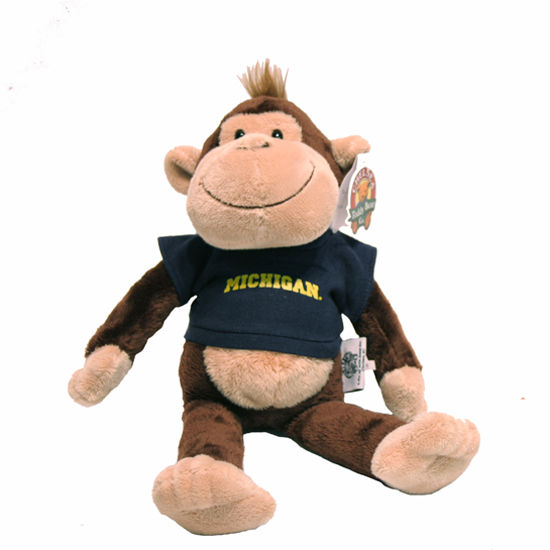 Stuffed Michigan Monkey