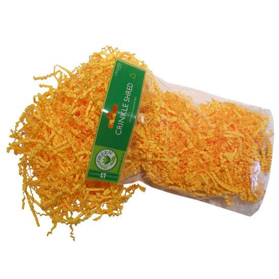 Jillson Roberts University of Michigan Yellow Crinkle Paper Gift Wrap