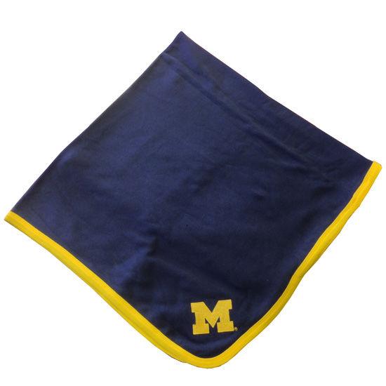 Two Feet Ahead University of Michigan Navy Baby Blanket