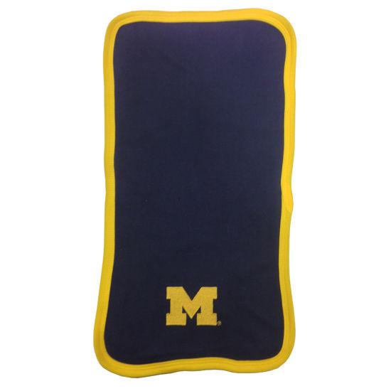 Two Feet Ahead University of Michigan Baby Burp Cloth