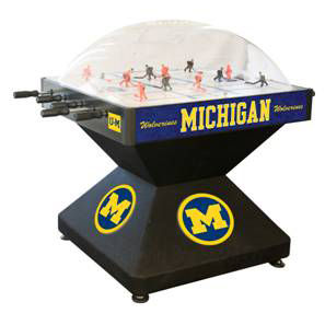 Holland Bar Stool Co. University of Michigan Dome Bubble Hockey Game