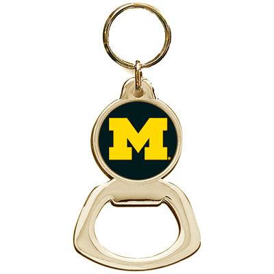 Jardine University of Michigan Metal Bottle Opener Key Chain