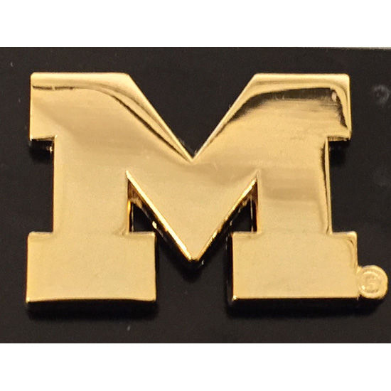 WinCraft University of Michigan Gold Block M Pin