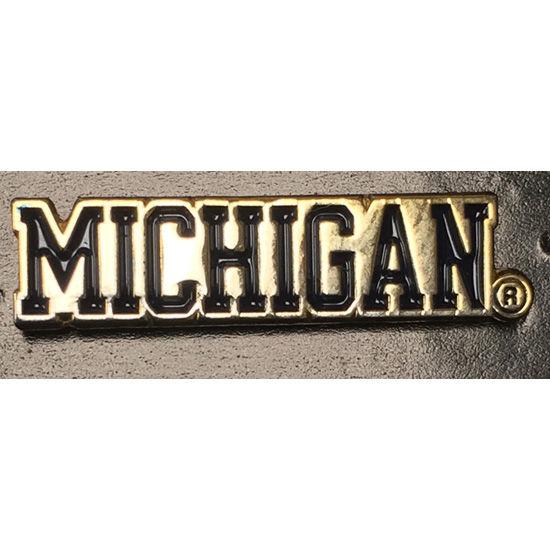 WinCraft University of Michigan Wordmark Lapel Pin