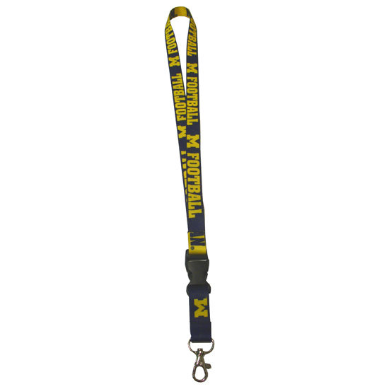 Wincraft University of Michigan Football Lanyard
