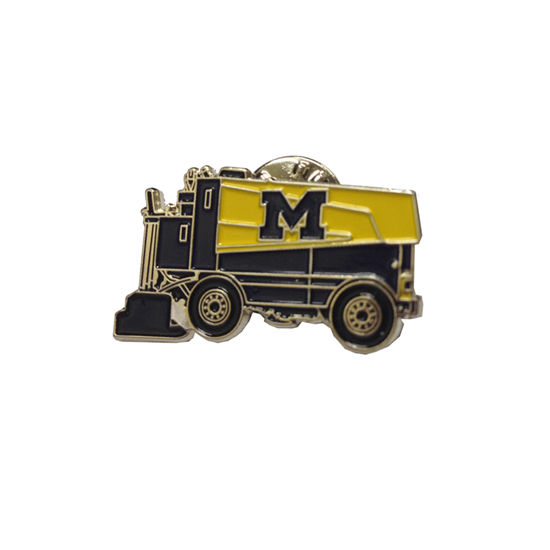 WinCraft University of Michigan Hockey Zamboni Lapel Pin