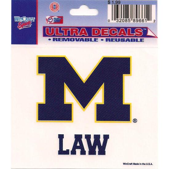 Wincraft University of Michigan Law School Decal - 3