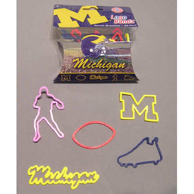 Forever Collectibles University of Michigan Logo Bandz
