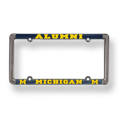 University of Michigan License Plate Frame for Alumni
