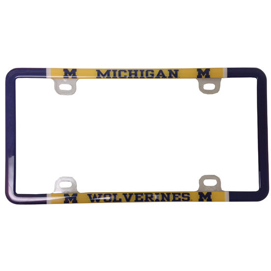 Stockdale University of Michigan Varsity Thin Rim License Plate Frame
