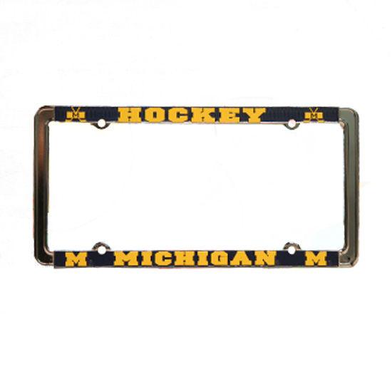 License Plate Frame Michigan Hockey