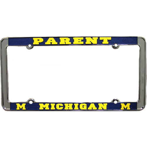 University of Michigan Parent License Plate Frame