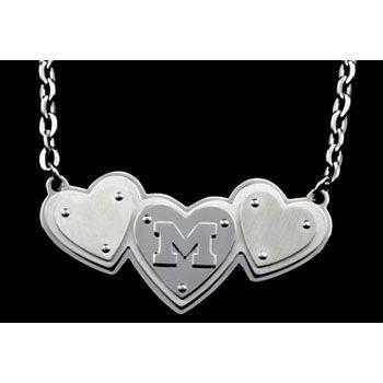 Beliza Michigan Polished Heart Necklace