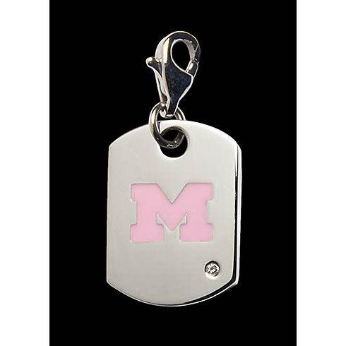 Beliza Pink Michigan Diamond Charm