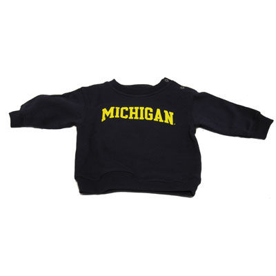 University of Michigan Infant Navy Crewneck Sweatshirt