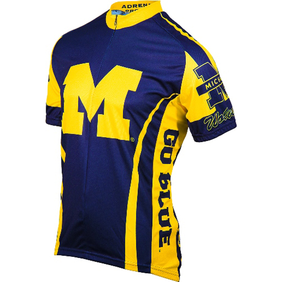 Adrenaline University of Michigan Road Bike Jersey
