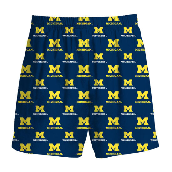Genuine Stuff University of Michigan Youth All Over Print Boxer Short