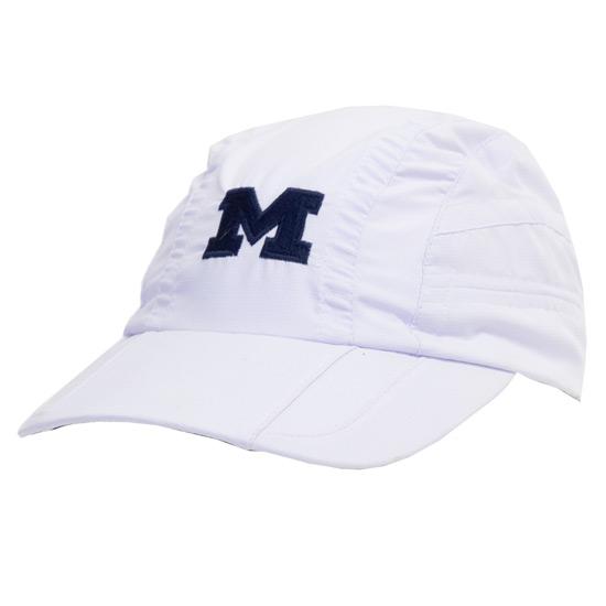 Ahead University of Michigan White Weston Runners Hat