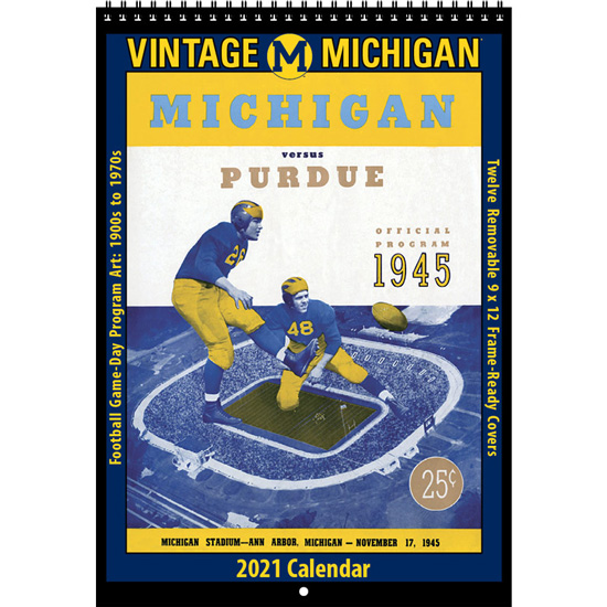 Asgard Press University of Michigan 2021 College Vault Vintage Calendar