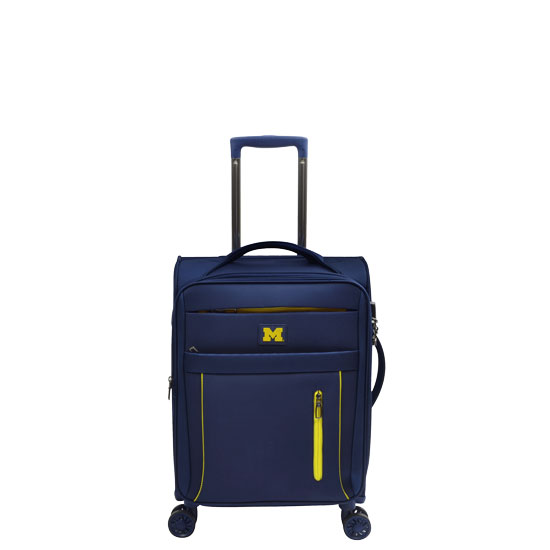 Alumni Travel Gear University of Michigan 19'' Carry-On Travel Luggage Bag