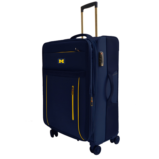 Alumni Travel Gear University of Michigan 25'' Travel Luggage Bag