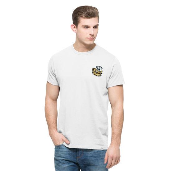 '47 Brand University of Michigan White Vault Wolverine Fieldhouse Tee